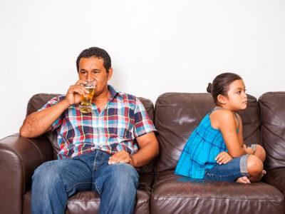 O que fazer com um pai alcoólatra